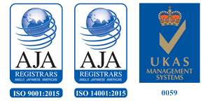 Certified to ISO9001 and 14001