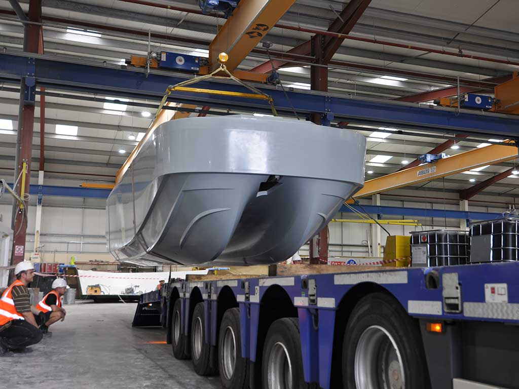 First Production Workboat Delivered