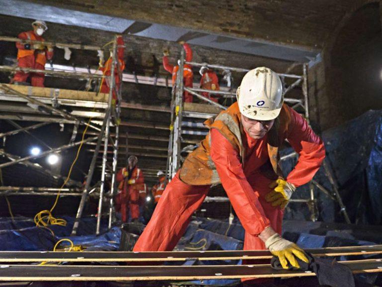Tunnel Reinforcement Plates
