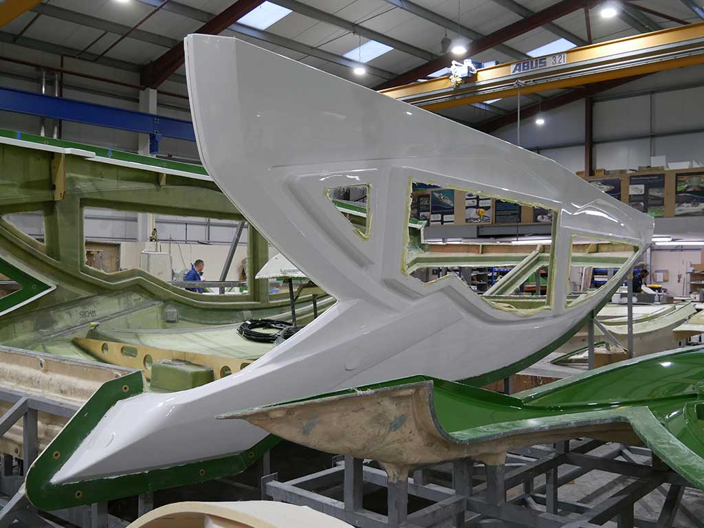 Sunseeker 50 Predator NORCO Composites & GRP