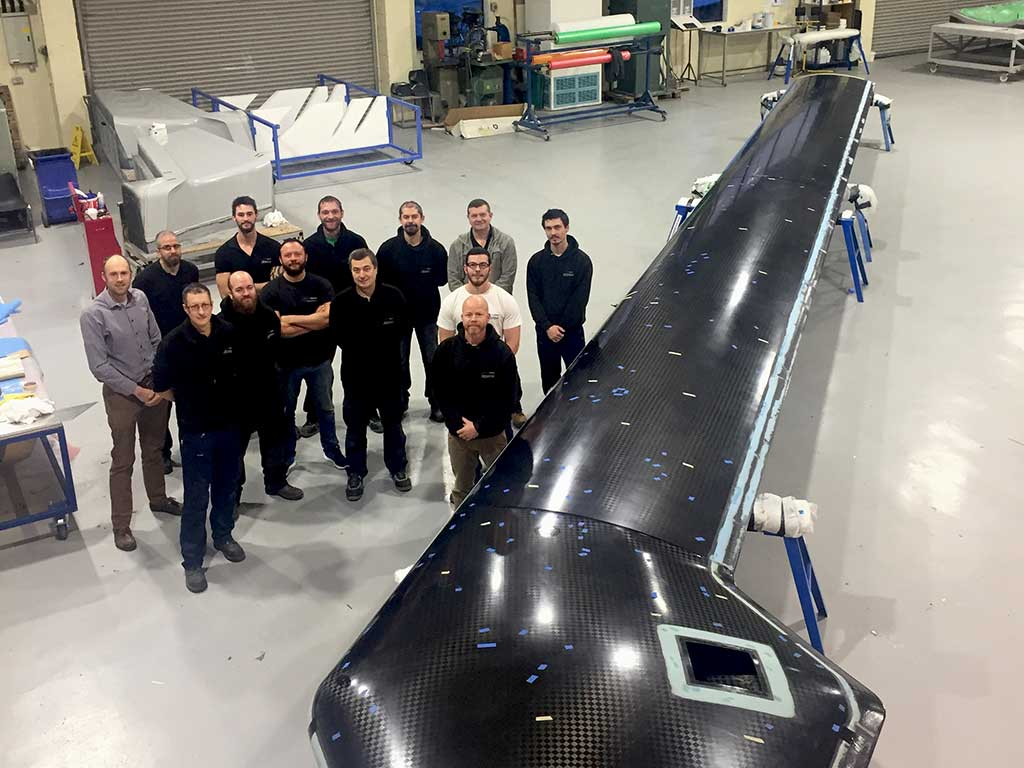 Unmanned Aerial Vehicles UAV Team NORCO Composites & GRP