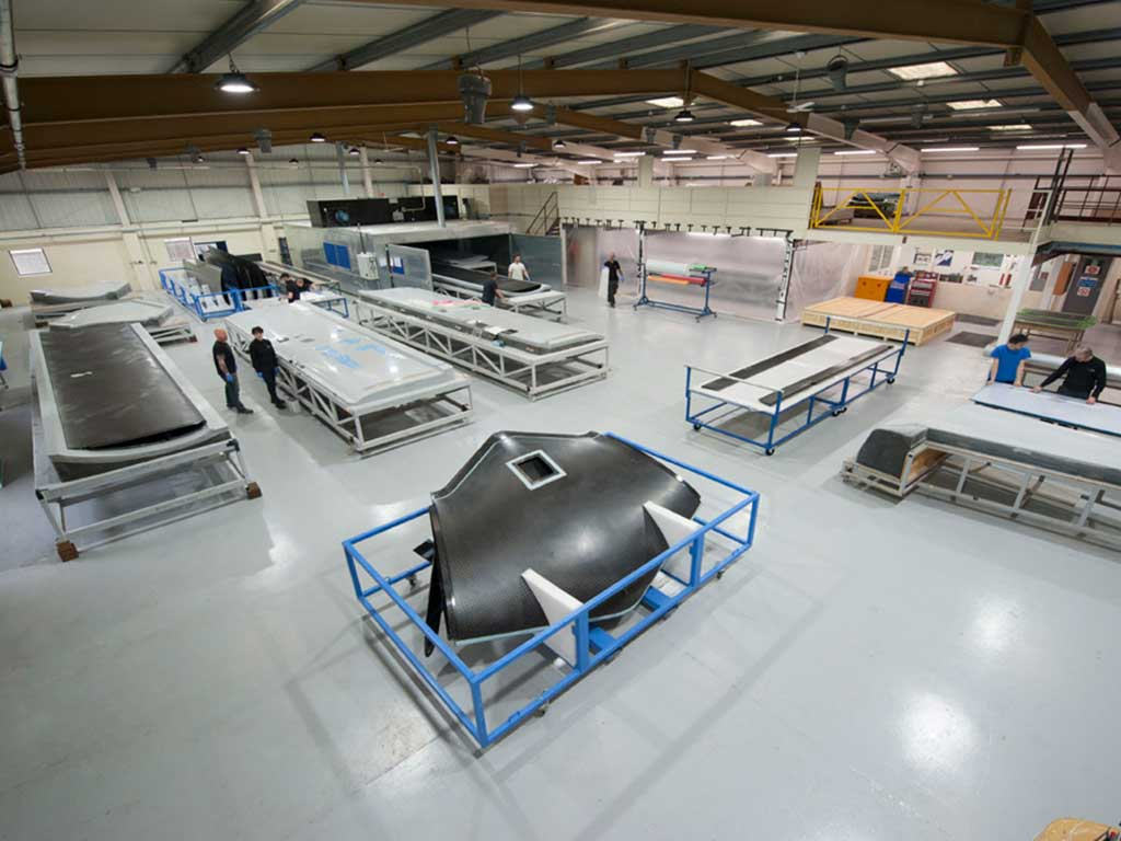 Unmanned Aerial Vehicles UAV Shop Floor NORCO Composites & GRP