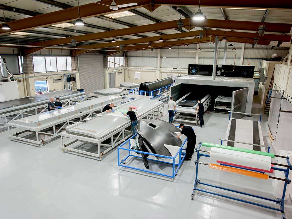 Unmanned Aerial Vehicles UAV Factory NORCO Composites & GRP