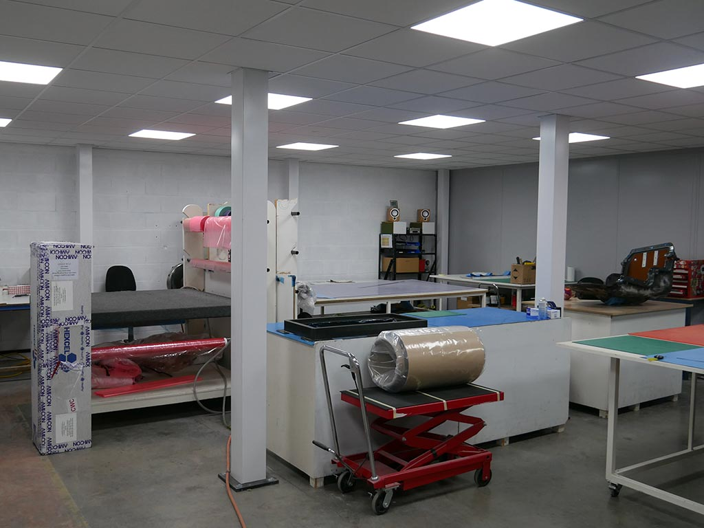 Dedicated Laminating Facility for Prepreg