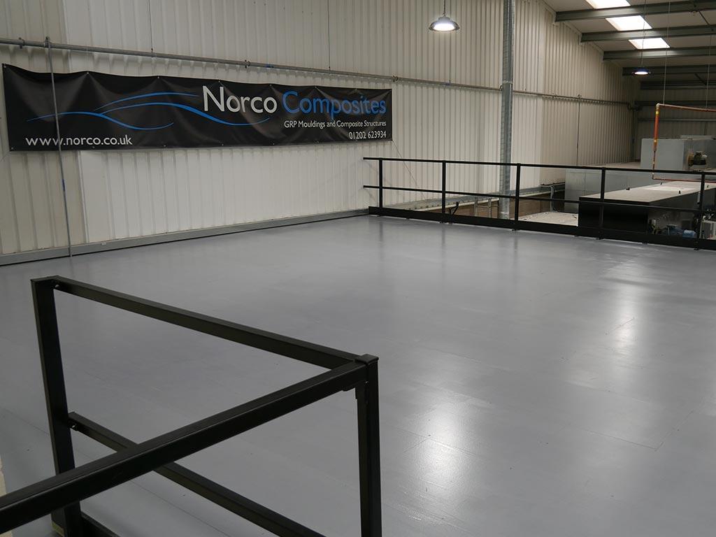 Dedicated Laminating Facility for Prepreg NORCO Composites & GRP 3