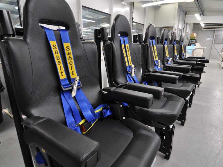 Suspension Crew Seat