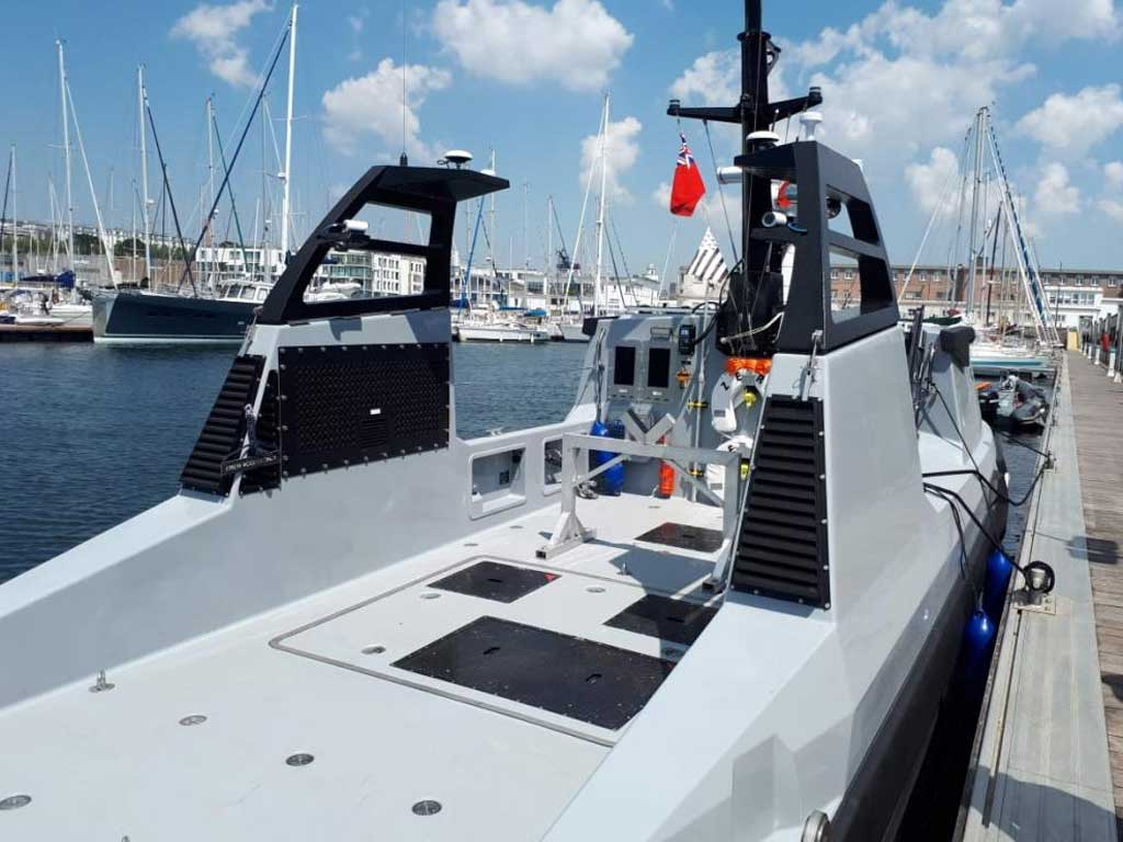 Unmanned Surface Vehicle NORCO Composites & GRP 4