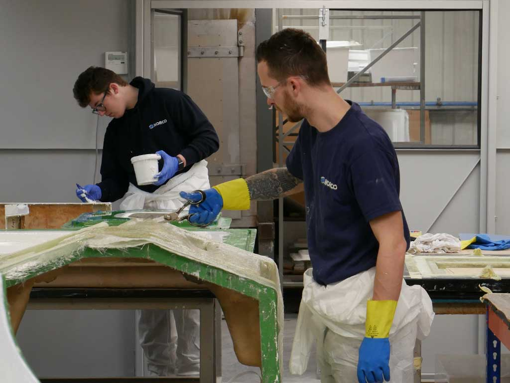 Composites Training Centre Opens NORCO Composites & GRP 12