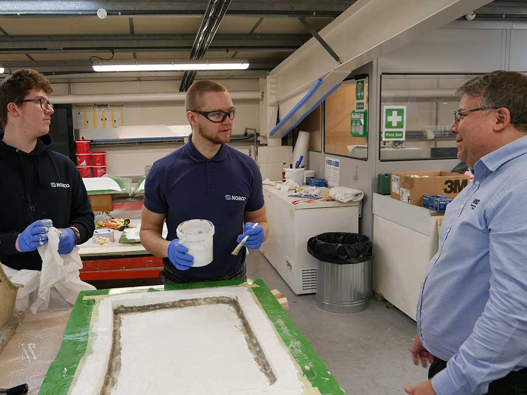 Composites Training Centre Opens NORCO Composites & GRP 14