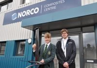 Composite Project for Poole Grammar Student - NORCO Composites & GRP
