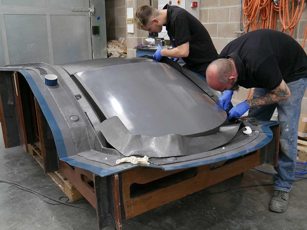 S247 Carbon Fibre Hardtop - NORCO Composites & GRP 1