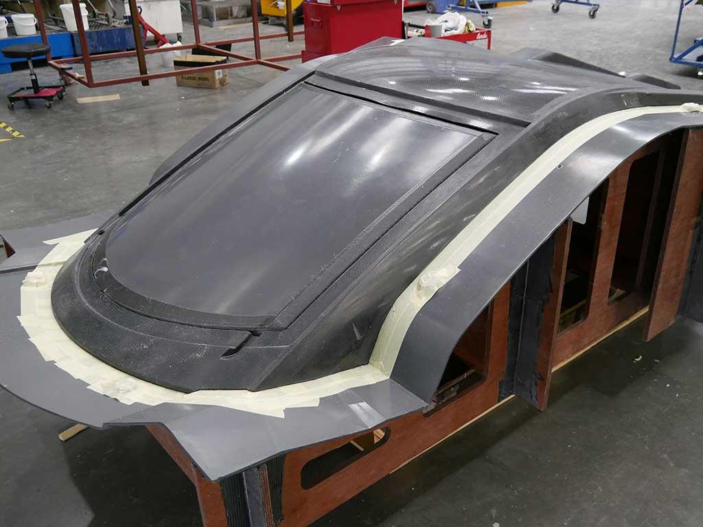 S247 Carbon Fibre Hardtop - NORCO Composites & GRP 5