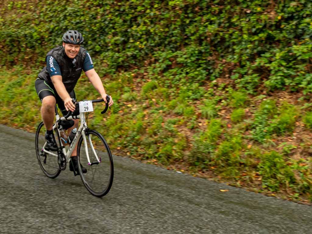 Over £4000 raised for Charity in 100 Mile Cycle Challenge