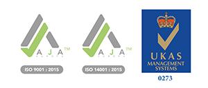 Certified SOCOTEC UK ISO-9001 and ISO-14001