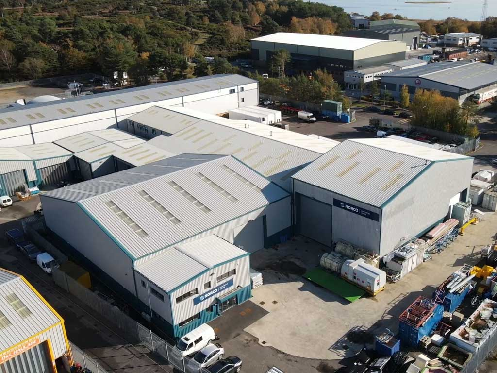 Drone Footage of GRP & Composites Facilities