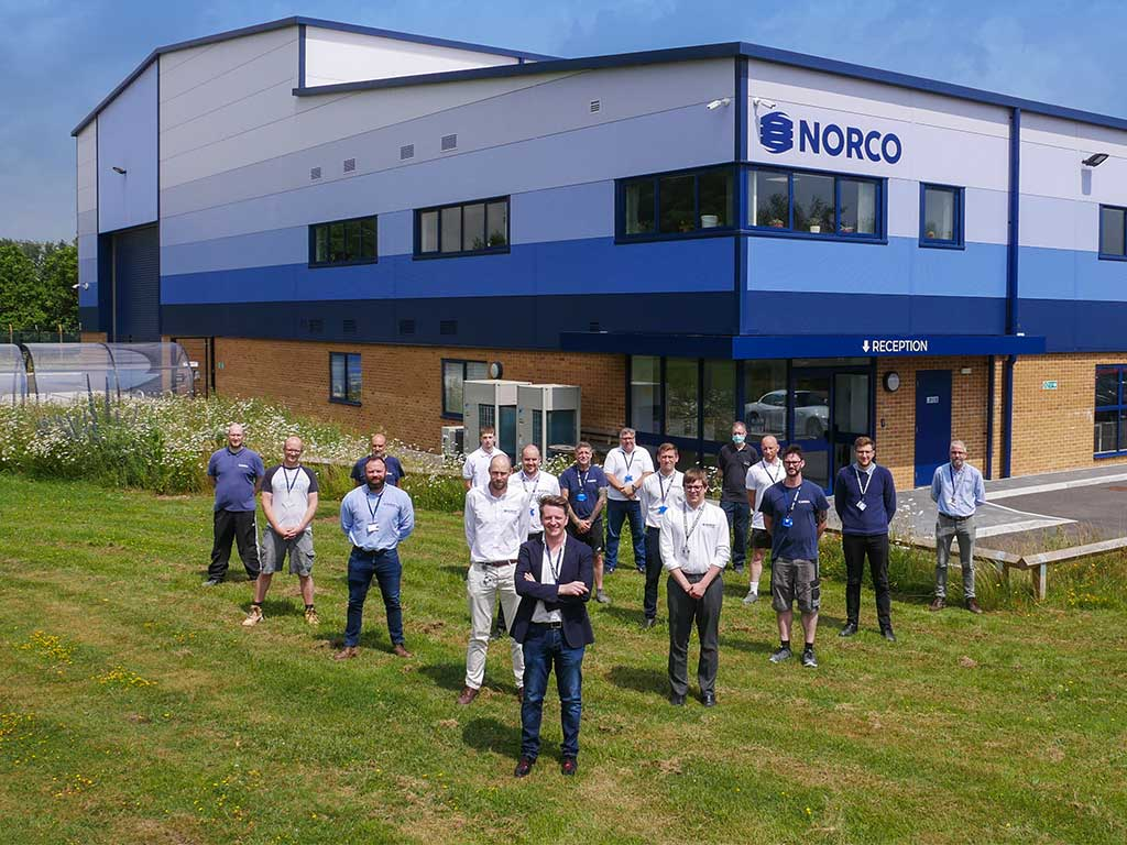 NORCO Awarded AS9100D Certification