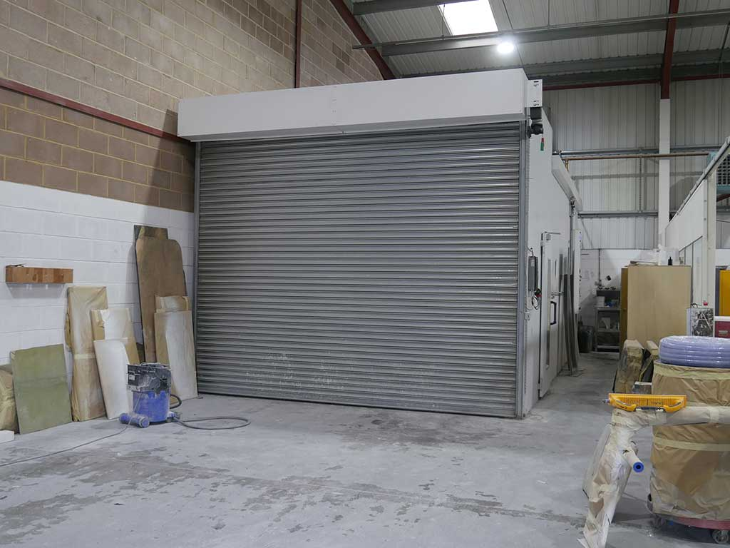 Old Spray Booth - NORCO Composites & GRP